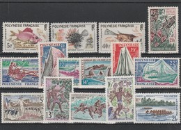 LOT 1520 POLYNESIE FRANCAISE  N° 18-19-21-35-36-37-38-39-40-41-47-48-49-50-51 ** - French Polynesia
