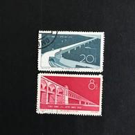 ◆◆CHINA 1957  Yangtze River Bridge Complete   USED 619 - 1949 - ... People's Republic