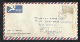Botswana 1978 Air Mail Postal Used Cover Botswana To Pakistan - Botswana (1966-...)