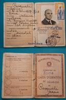 Carta D'Identità 1960 E Patente Di Guida 1962 - Documenti Storici