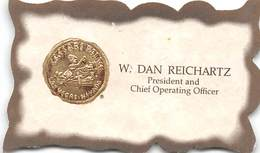 Caesars Palace Casino Las Vegas NV - Chief Operating Officer Business Card - Visiting Cards