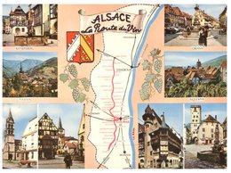 (ORL 335) France - Map Alsace Route Du Vin - Maps