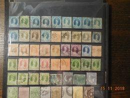 Lot De Timbres Des Colonies Anglaises Du Queensland (Australie) - Stamps