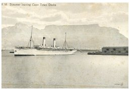(741) Cruise Ship Leaving Port Of Cape Town (South Africa) Paquebot - Steamer - Dampfer