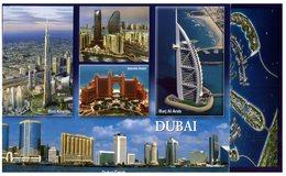 (741) United Arab Emirates - UAE - Dubai (with Eagle Stamp At Back Of Card) - United Arab Emirates
