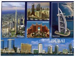 (741) United Arab Emirates - UAE - Dubai (with Eagle Stamp At Back Of Card) - Emirats Arabes Unis