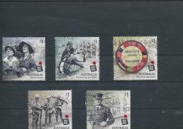 (stamp 15-11-2018 - X100) Australia - Used Stamps 2018 - WWI (5) The Final Year - 2010-... Elizabeth II