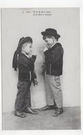 ENFANTS - N° 2561 - SI TU LE DIS A PAPA JE LE DIRAI A MAMAN - CPA VOYAGEE - 75 - Cartoline Umoristiche
