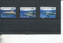 (stamp 15-11-2018 - X100) Australia - Cocos (keeling) Islands  - Dolphins (3) - Cocos (Keeling) Islands