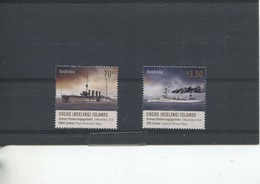 (stamp 15-11-2018 - X100) Australia - Cocos (keeling) Islands  - HMAS Sydney Versus Emden (2) - Cocos (Keeling) Islands