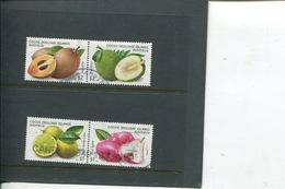 (stamp 15-11-2018 - X100) Australia - Cocos (keeling) Islands  - Fruits (4 In Pairs) - Cocos (Keeling) Islands