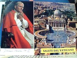 ROMA PAPA GIOVANNI PAOLO II  STAMP TIMBRE SELO VATICANO 650L CARITAS 1990 GX5705 - Vatican