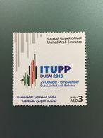 UAE Dubai 2018 ITUPP Telecom Summit MNH Stamps 2018 - United Arab Emirates