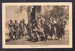CPA AFRIQUE - BURKINA FASO - Types Africains - Danseurs Mossi - TB PLAN Groupe D'Hommes - Burkina Faso