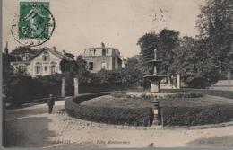 CPA 75 PARIS Auteuil, La Villa Montmorency - Année 1908 - Frankrijk