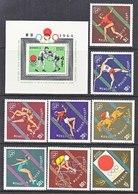 MONGOLIA   351-59     **   OLYMPICS  TOKYO - Summer 1964: Tokyo