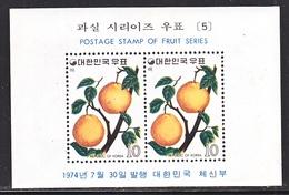 KOREA 897 A     **    FRUITS   PEARS - Fruits