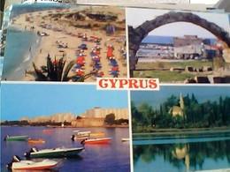 CIPRO KIBRIS CYPRUS VUES STAMP TIMBRE SELO 25  FOLK +REFUGE 1974 GX5713 - Cipro