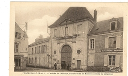 49 -   FONTEVRAULT - L'entrée De L'Abbaye - Maison Centrale De Détention   31 - France