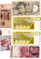 Lot De 17 Billets TTB, Usagés De Différents Pays - Voir Les Scans, Voir état - Coins & Banknotes