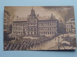 EINZUG Der Deutschen TRUPPEN In Antwerpen Am 9 Oktober 1914 ( 310 - NPG ) ( Zie Foto's ) ! - Guerre 1914-18
