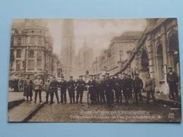 Die Deutschen In ANTWERPEN - Im Hintergründe Die Kathedrale ( Original -Aufnahme / MKB 6002 ) 19?? ( Zie Foto's ) ! - Guerre 1914-18