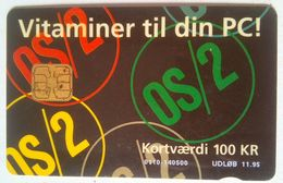 DANMONT  IBM 100 Kr - Denmark