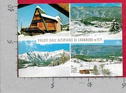 CARTOLINA VG ITALIA - Saluti Dall'ALTIPIANO DI LAVARONE (TN) - Vedutine Multivue - 10 X 15 - ANN. 1968 CAPPELLA - Saluti Da.../ Gruss Aus...