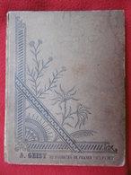 MANUSCRIT ILLUSTRE PAR JEAN CLAUDE GUILLOT 35 REGIMENT D INFANTERIE 1899 - Manuscripts