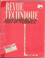 Revue Technique Automobile Novembre 1952 - N° 79: Mercedes 170 D Et Da, Refroidissement Par Air, Salon De L'Auto - Auto