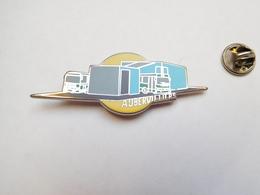 Superbe Pin's En Zamac , Transport Bus ,  RATP , METRO , RER , Portes Ouvertes Dépot D' Aubervilliers , Signé Ballard - Transportation