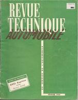 Revue Technique Automobile Février 1954 - N° 94 Opel Kapitan, Moteur Buda - Auto