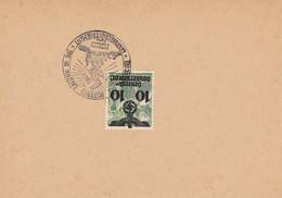 2x Blanko Postkarte, Verschiedene DPO Nummern - Occupation 1938-45