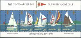 GUERNSEY 1991 Mi-Nr. Block 7 ** MNH - Guernsey