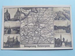 Belagerung ANTWERPENS ( Historisches Museum Der Pfalz - 637 Stamp / NBC ) 191? ( Zie Foto's ) ! - Guerre 1914-18