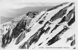 AK 0079  Hotel Hochschneeberg Um 1958 - Schneeberggebiet