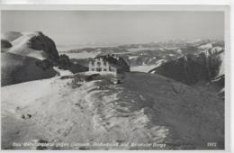 AK 0079  Rax - Habsburghaus Gegen Gamseck , Hochschwab Und Ennstaler Berge Um 1938 - Raxgebiet