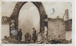 AK 0080  Häuserruinen Im Westen - Feldpost Um 1916 - Guerre 1914-18