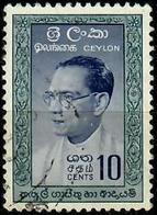 SRI LANKA (CEYLON) 1961 - Mi. 316 II O, [Hairline Corrected] Dr. Solomon West Ridgeway Dias Bandaranaike (1899-1959) - Sri Lanka (Ceylan) (1948-...)