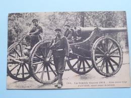 Gros Canon Belge D'Anvers, Sauvé Avant La Retraite ( Phot.Express - 160 ) Anno 19... ( Zie Foto's ) ! - Guerre 1914-18