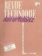 Revue Technique Automobile Décembre 1954 - N° 104: Fiat 1100, Chevrolet Powerglide - Auto