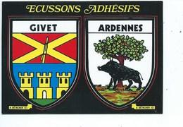 Givet Ardennes Ecussons Adhésifs - Givet