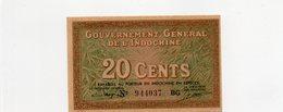 INDOCHINE / Superbe Billet De 1939 UNC N° 86c Du Paper Money - Indochina