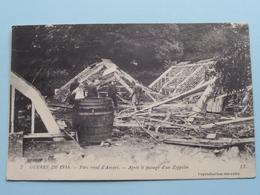 """Parc Royal D'Anvers - Après Le Passage D""""un Zeppelin ( L.L. - 7 ) Anno 19... ( Zie Foto's ) ! - Guerre 1914-18"""