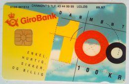 DANMONT   Giro Bank  100 Kr - Denmark