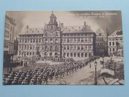 Einzug Der DEUTSCHEN TRUPPEN In Antwerpen Am 9 Oktober 1914 ( NPC ) ( Zie Foto's ) ! - Guerre 1914-18