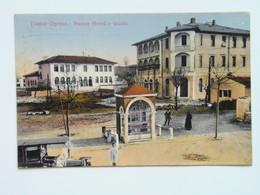 Trieste 347 Opcina Opicina Auto 1910 Albergo Hotel Nuovo Scuola - Andere Steden