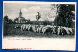 Landes  -  Berger échassier - France