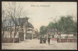 AUSTRIA - WIEN - VOLKSPRATER OLD POSTCARD (see Sales Conditions) - Wien Mitte