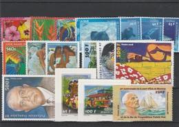 LOT 1523  POLYNESIE FRANCAISE  N° 821-822-823-824-825-826-827-828-829à834-835-836-842 ** - French Polynesia